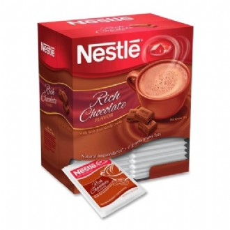 Nestle Professional Rich Chocolate Hot Cocoa Mix in 0.71 oz. packets