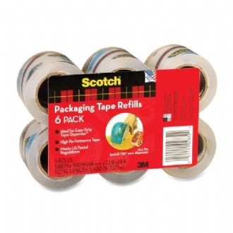 Scotch Packaging Tape -6 pack