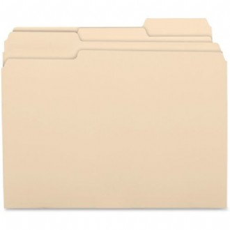 1/3 Cut Recycled Top Tab File Folder