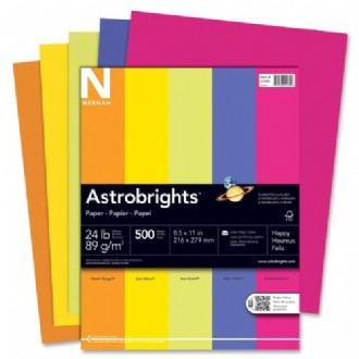 Astrobrights Premium Colored Paper-Assorted