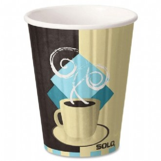 Solo Hot Cup Combo 12oz, 52/pack