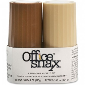 Office Snax Salt and Paper Shaker Set