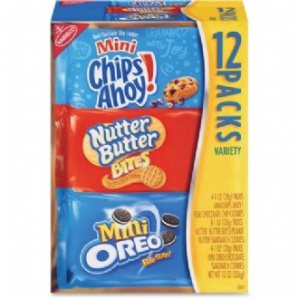 Nabisco Bite-Size Cookie Variety Pack