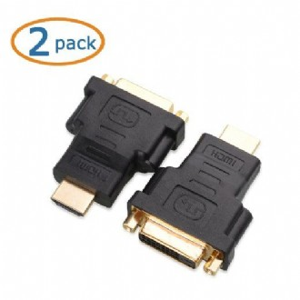 Cable Matters® High Speed Bi-Directional HDMI to DVI Cable Adapter 5 Inch