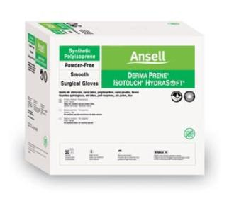 ANSELL GAMMEX  NON-LATEX PI MOISTURIZING SURGICAL GLOVES