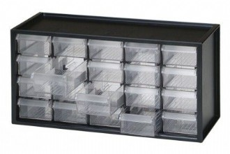20-Drawer Countertop Organizer