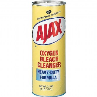 Ajax® Restroom Oxygen Bleach Powder Cleanser, 21 Oz.